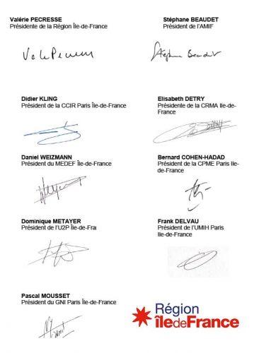 Signataires de la lettre ouverte au Premier ministre